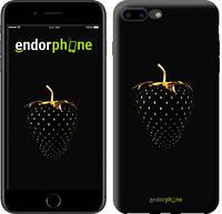 """Чехол на iPhone 7 Plus Черная клубника """"3585c-337-716"""""""