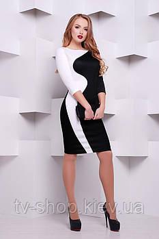 платье GLEM Black and White платье Лоя-2Ф д/р