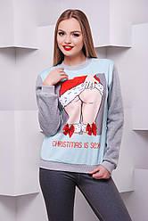 свитшот GLEM Christmas is sexy кофта Свитшот №2Д д/р