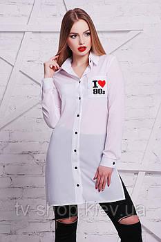 блуза GLEM I love 90 рубашка Марена-3 д/р