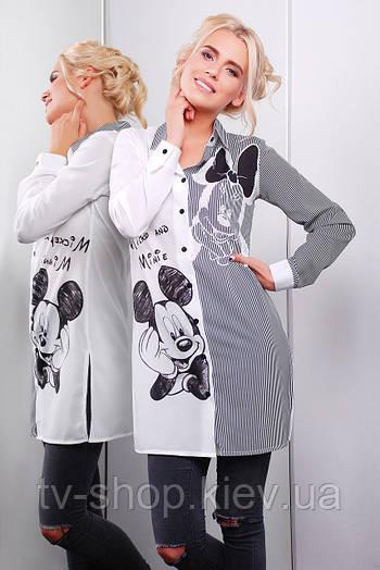 рубашка GLEM Mickey and Minnie рубашка Марена-3 д/р