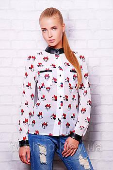 Блуза GLEM Minnie Mouse блуза Лекса 1 д/р
