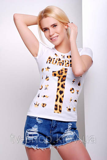 футболка GLEM Number 1 Футболка-2В
