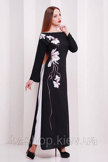 платье GLEM Белая сакура платье Маранелла д/р