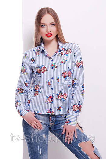 рубашка GLEM блуза Рипосто д/р