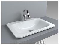 Раковина для ванной встраиваемая Буль-Буль California 62х46х10 белая 4406101