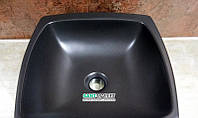 Раковина для ванной накладная AeT Spot Bag Two 39x39x14,5 черная L246T0R0V0105