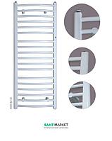 Водяной полотенцесушитель Instal Projekt Ambra R 500х1230х103-117 белый AMBR-50/120M