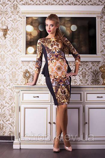 Платье GLEM Золото платье Богемия д/р