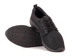 Черные подростковые кроссовки