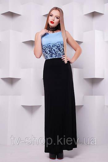 платье GLEM Кружево черное платье Бомонта б/р