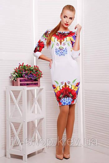 платье GLEM Маки платье Эльза-2 д/р