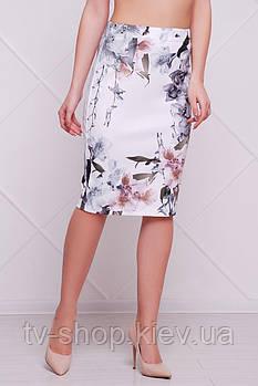 юбка GLEM Орхидеи юбка мод. №14 Оригами