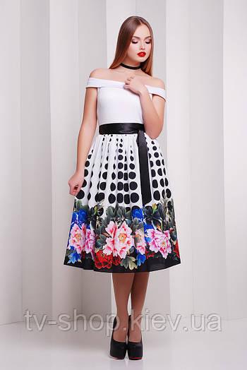платье GLEM Пион-горох платье Эмми б/р