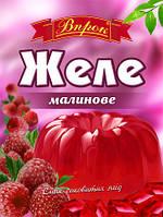 """Желе малиновое на желатине 80 г  ТМ """"Впрок"""""""