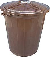 """Бак пластиковый на 45 литров пищевой """"Горизонт"""""""