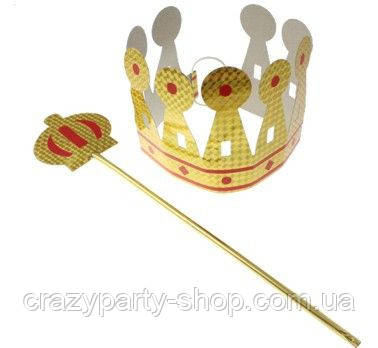 Карнавальная корона принца, принцессы, короля, королевы