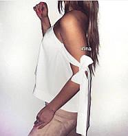 Блуза женская Кофта трансформер на завязках