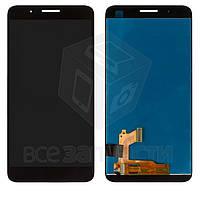 Дисплей для мобильного телефона Huawei Honor 7i, черный, с сенсорным экраном, original (PRC)