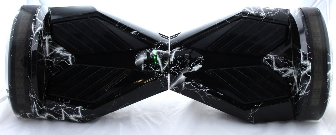 "Гироборд 8"" BT SD + пульт (серый\черный\мраморный) (АКБ Samsung) (1)"