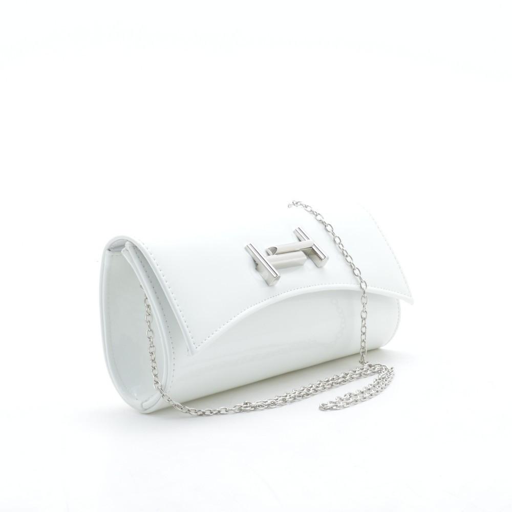 637166be3597 Клатч белый лаковый TT - Kit Bag - женские сумки, кошельки и клатчи в Киеве