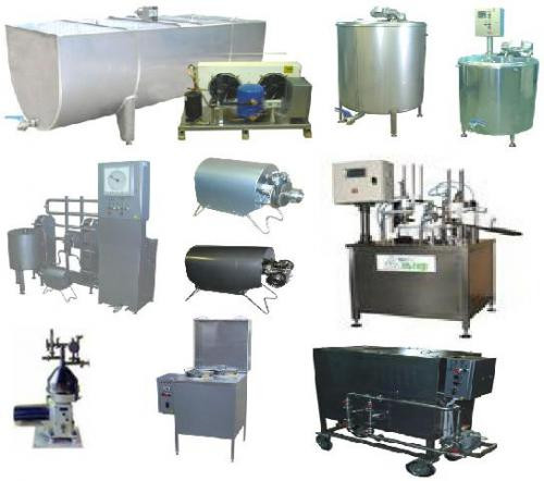 Комплект оборудования для производства йогуртов и других кисломолочных продуктов - ЧП «Алис-Холод» в Киеве