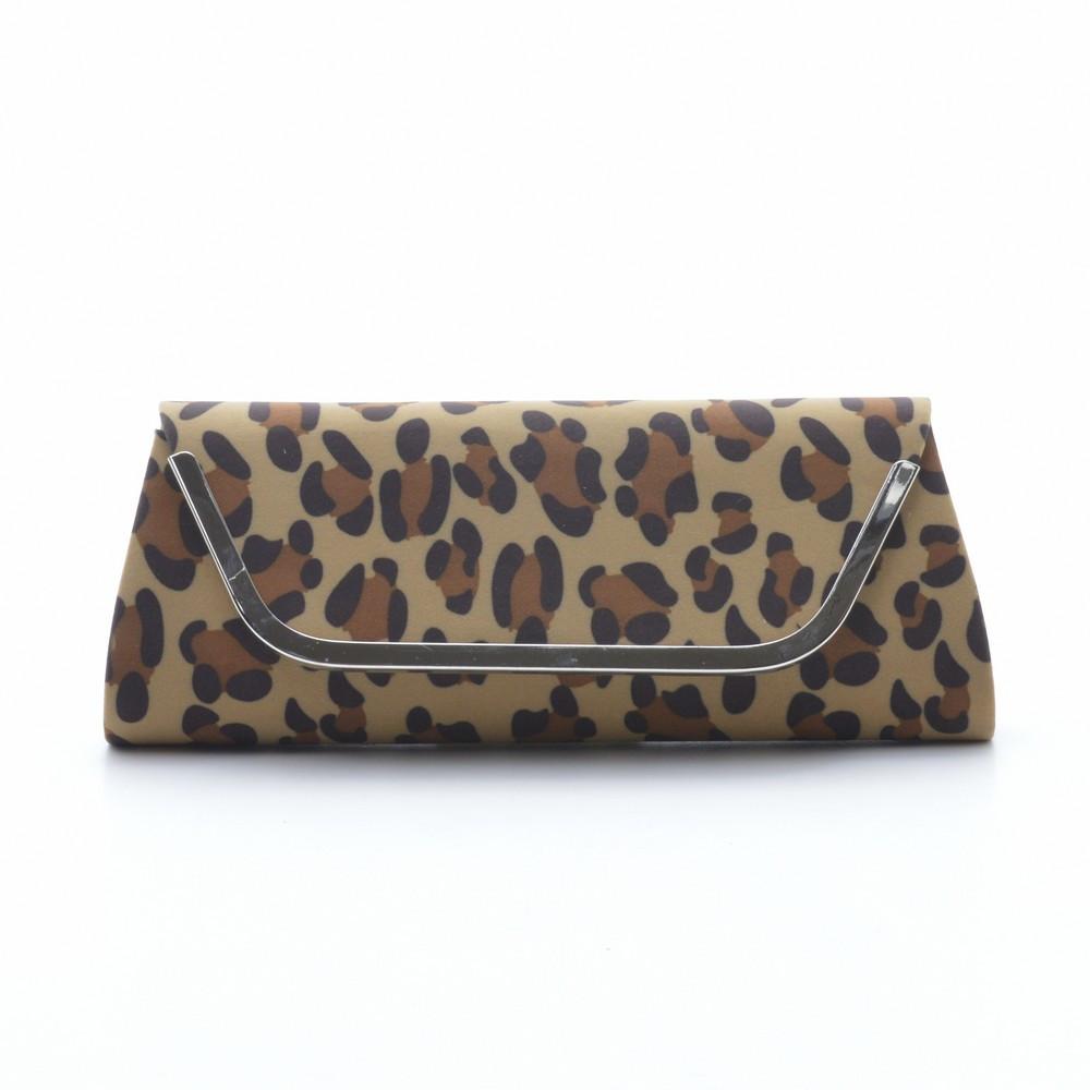 291df75d479f Клатч вечерний велюровый леопардовый с цепочкой - Kit Bag - женские сумки,  кошельки и клатчи