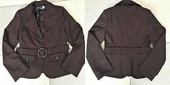 Детский стильный пиджак в школу