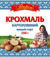 """Крахмал картофельный в/с 200 г  ТМ """"Впрок"""""""