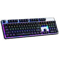 Клавиатура  HK-6300  с подсветкой клавиш для работы в темноте