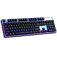 Проводная клавиатура KEYBOARD KR-6300 с подсветкой клавиш