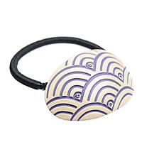 """Резинка для волос KOSMART """"Hiding under Violet"""" c кристаллами Swarovski KADH4032323"""