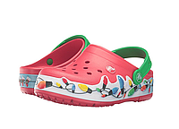 Мигающие Кроксы Сабо Crocs CrocsLights Holiday Clog