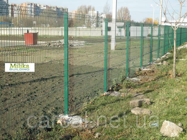 Забор из сварной сетки  Оригинал 3*4 2,5*2.40