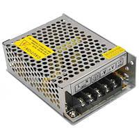 Блок питания 12V 5A 60Вт в перфорированом корпусе для светодиодной ленты