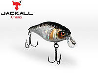 Воблер Jackall Cherry 44F hl silver&black