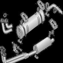 Система випуску газів двигуна