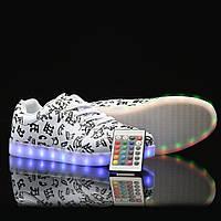 Светящиеся кроссовки на пульте Мелодия