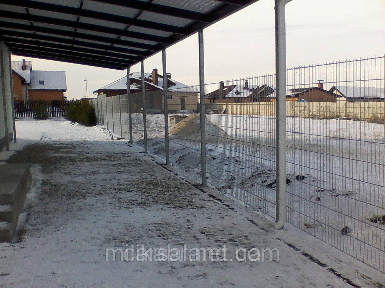 Забор из сварной сетки  Кольчуга 5*4*5 3*0.63