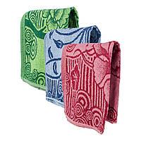Махровое банное полотенце Роспись пачка 10 шт