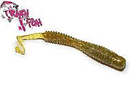 Силикон Crazy Fish Active Slug 10см col.01 Оливка-Кальмар