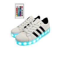 Светящиеся кроссовки на пульте Superstar