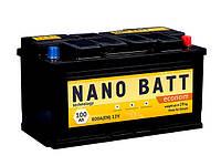 Аккумулятор NANO BATT  Econom  -100 +левый 800 A