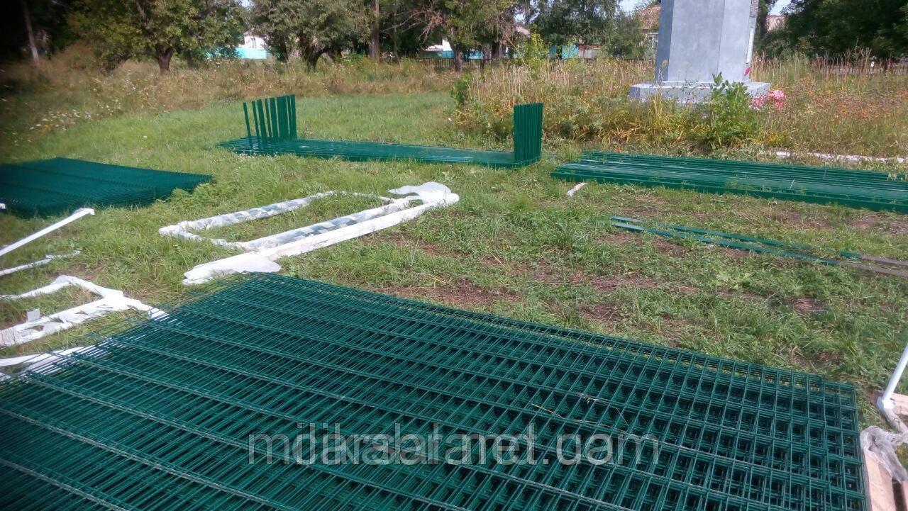 Забор из сварной сетки  Кольчуга 5*4*5 3*1.63