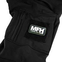 Kуртка Soft Shell MFH Liberty Black 03425A, фото 2