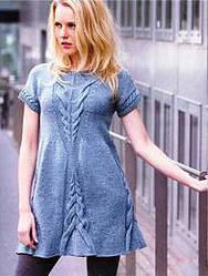Секреты выбора вязаного платья по типу фигуры