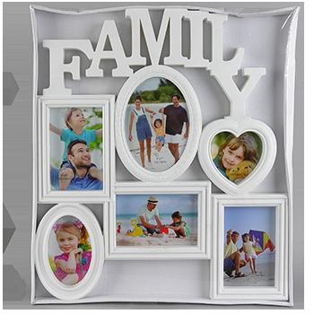 Семейная мультирамка Family на 6 фото