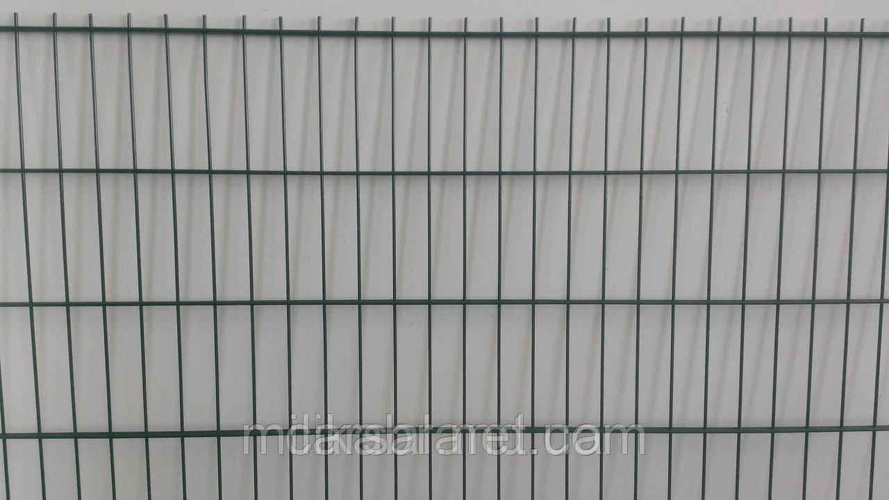 Забор из сварной сетки  Кольчуга 5*4*5 3*2.43