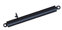 Гидроцилиндр подъема платформы КАМАЗ 4-х штоковый 6520 Профмаш