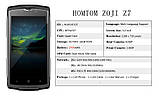 "Смартфон противоударный HOMTOM ZOJI Z7 (IP68, экран 5"", памяти 2/16, аккумулятор 3 000 мАч), фото 7"